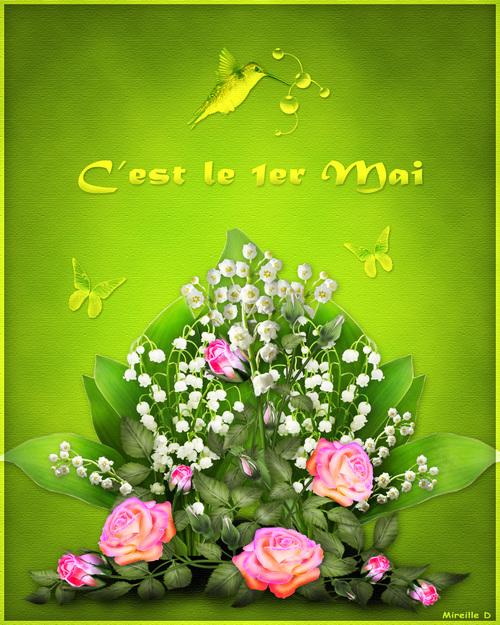 Bouquet pour le 1er Mai