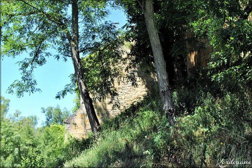 Photos de l'arrière du Château de Vayres (Gironde)