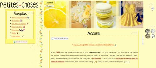 Thème citron