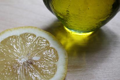 Huile et citron