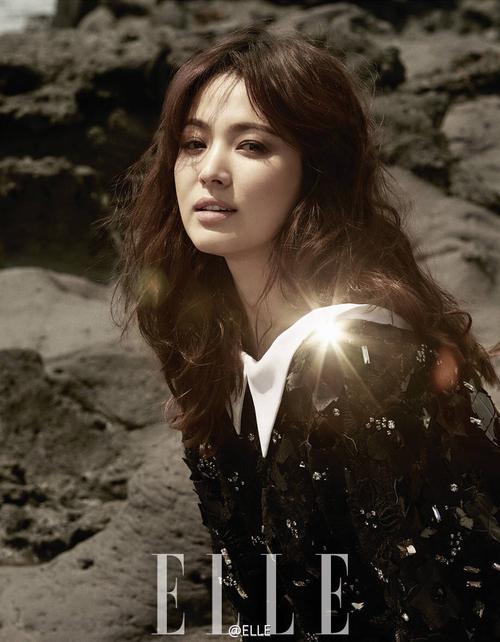 Song Hye Kyo pour Elle