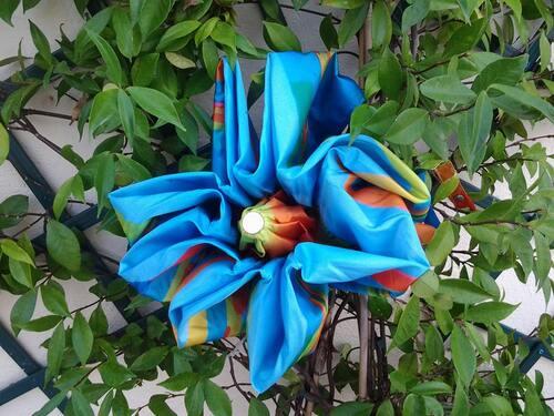 Parapluies en fleur...