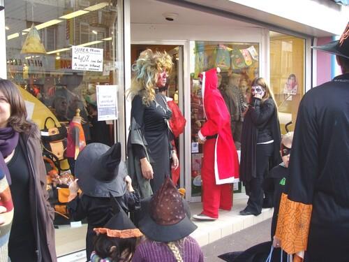 Halloween à Châtillon sur Seine