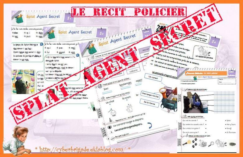 * P2: le récit policier avec Splat, agent secret *