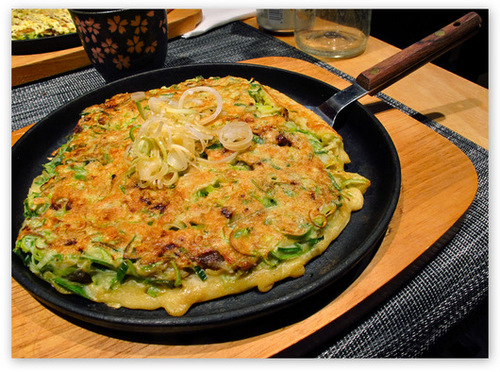 Okonomiyaki, recette japonaise
