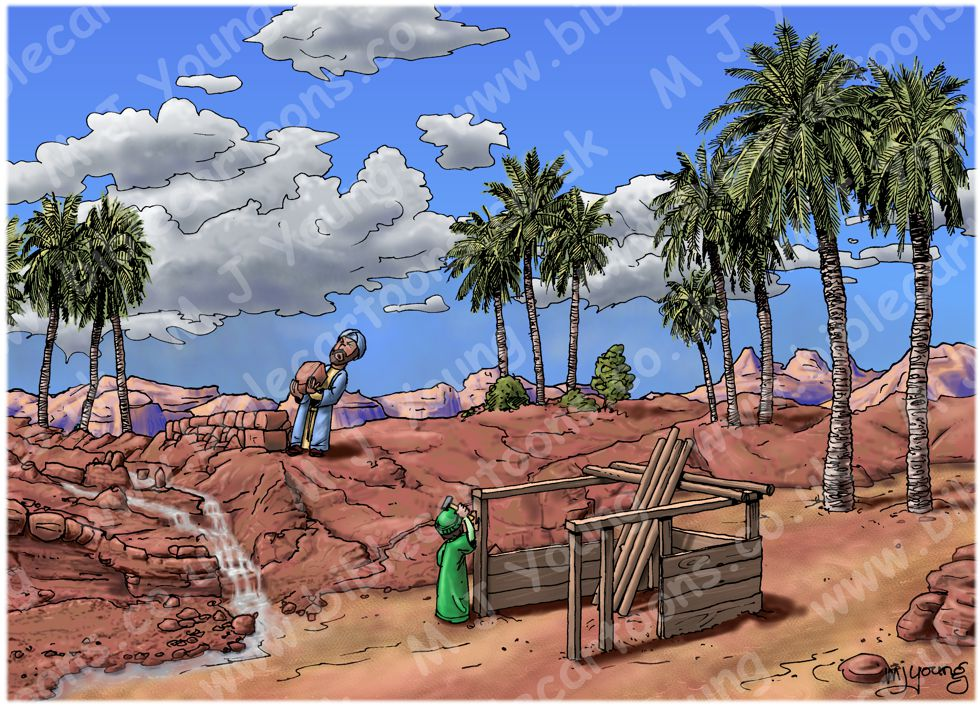 Matthew 07 - Parable of wise and foolish builders - Scene 02 - Building