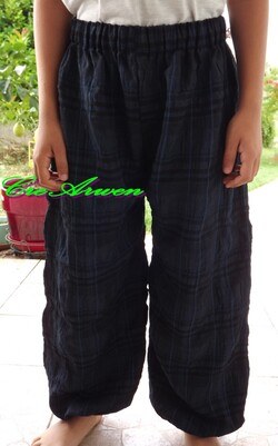 Pantalon large 10 ans
