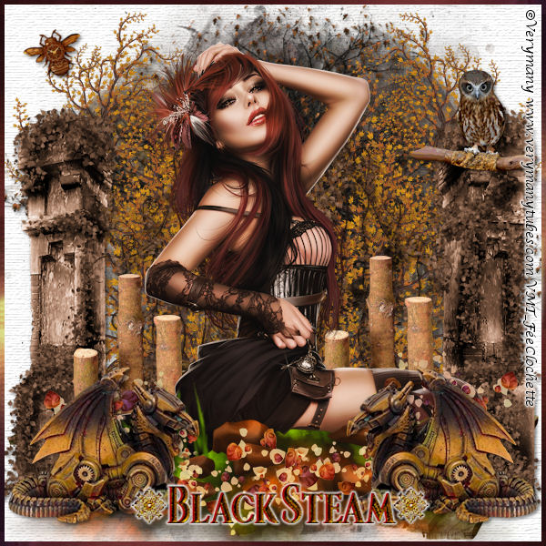 Black steam
