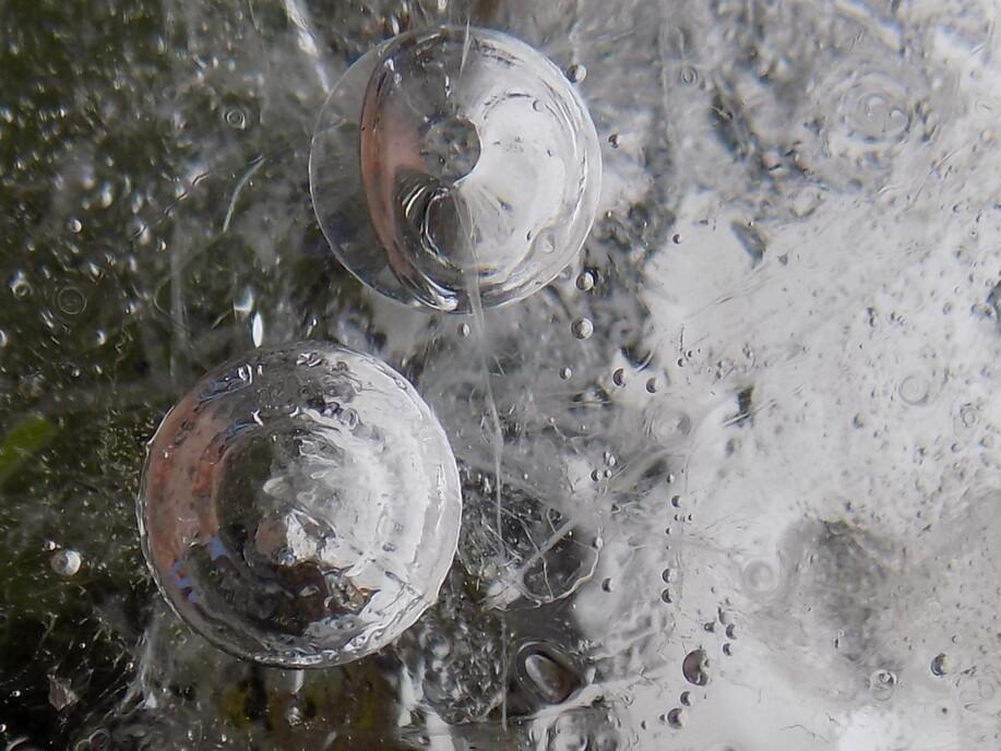 De simples bulles d'air...