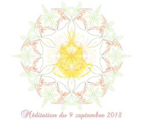 méditation du 9 septembre 2018