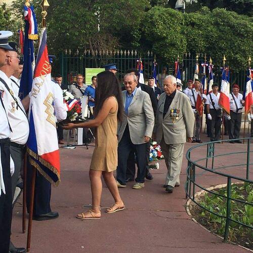 * Cérémonie commémorative de la Libération de Toulon le 28 août 2016