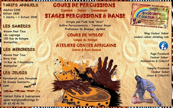 ★ Portes Ouvertes - Un Cours Percussions Gratuit