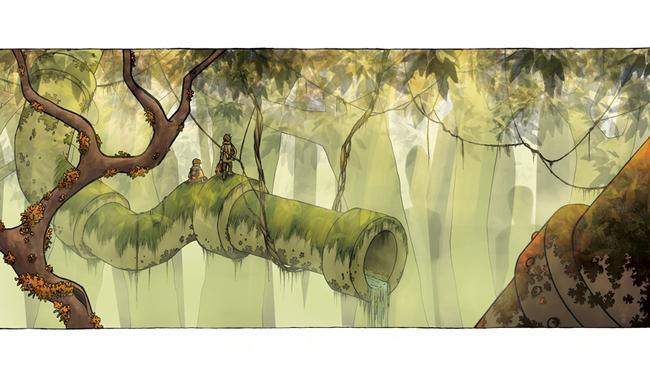 Le retour des tuyaux dans la forêts !