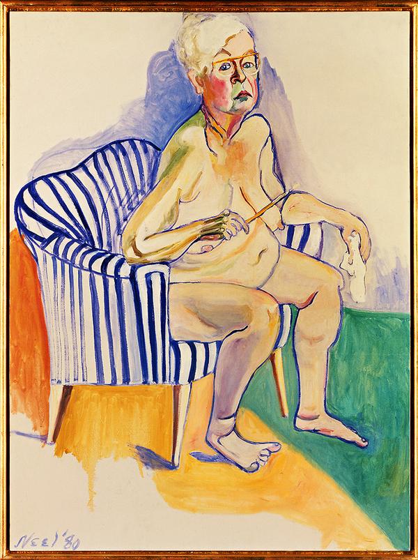 ALICE NEEL, auto/portrait