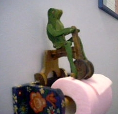 0A940 la grenouille en tricycle