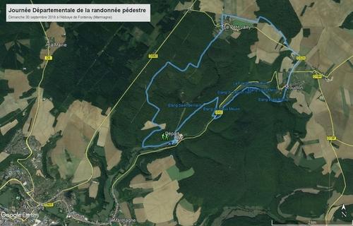 """""""Journée Départementale 2018 - Circuit 15 km"""""""