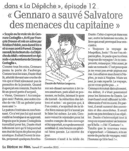 Les aventures de Gennaro Costagliola / Episode 12 / La depêche