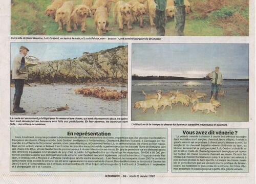 Le veneur des falaises 02/11/2006