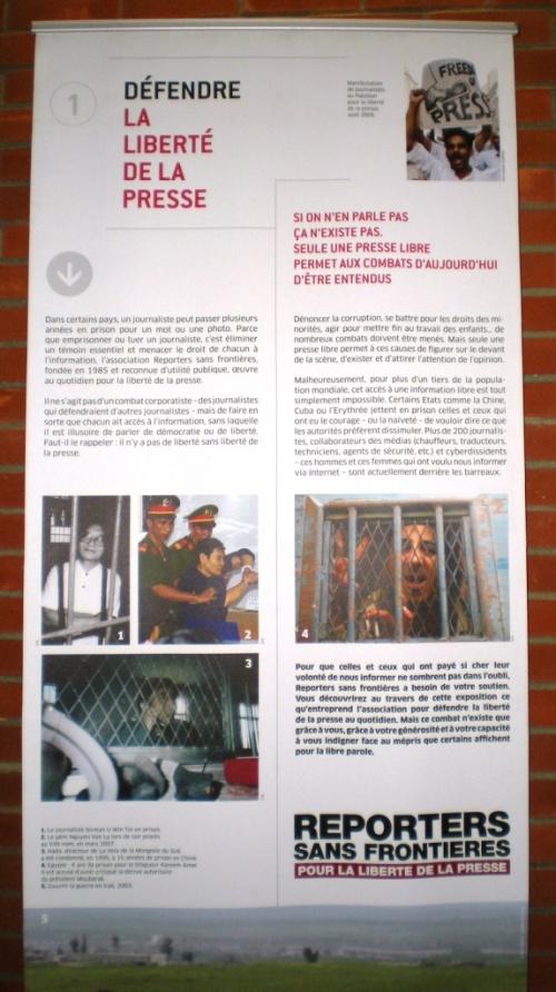 RSF : La Liberté de la Presse