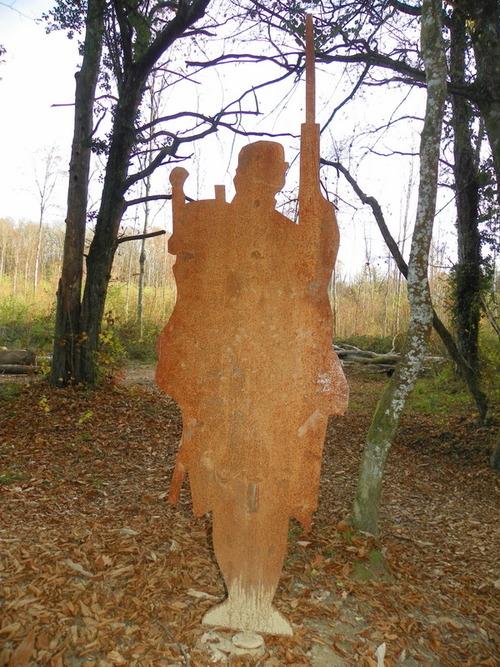 Parcours du Poilu du 133ème Régiment  d'Infanterie à la forêt de Rothonne