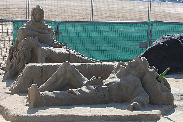 sculptures en sable à Royan-17-