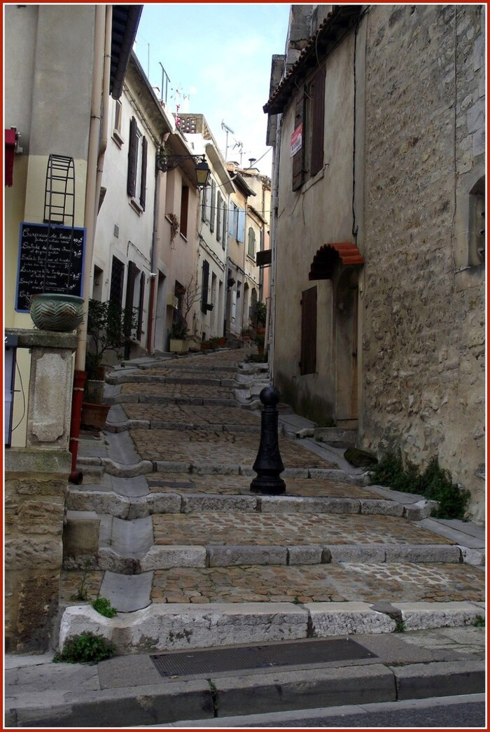 Rue en escalier