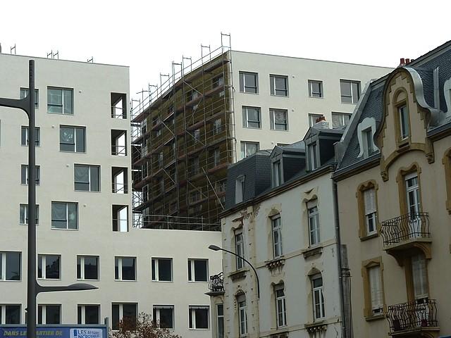 Le Centre Pompidou-Metz et l'Amphithéâtre 10 Marc de Met