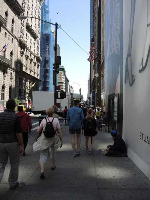 NEW YORK 2016- Jour 3- un morceau de la 5ème avenue