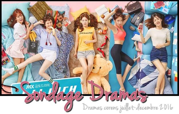 Quel drama coréen de juillet/décembre 2016 as-tu préféré ?