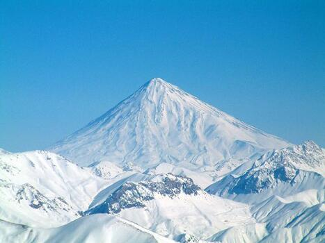 plus belles montagnes damavand iran