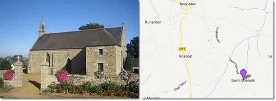 Chapelle Saint-Guénolé   Tonquédec