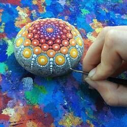 Tout est Art dans la nature - Déco facile de simples galets