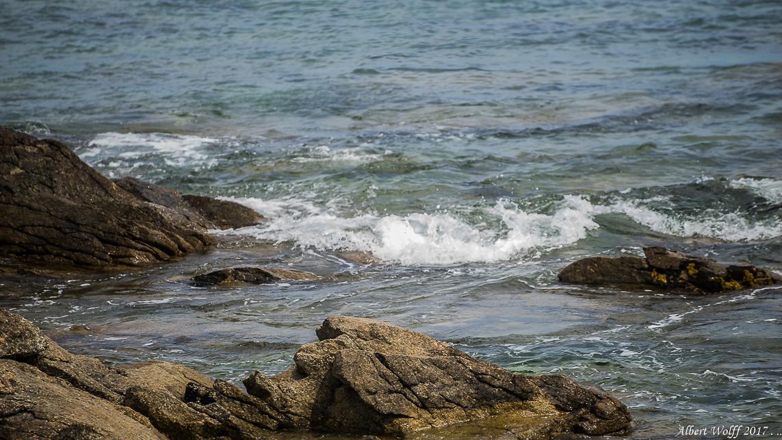 BZH - Rochers et  mini-vagues