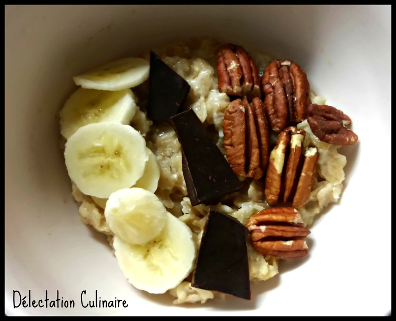 Porridge très gourmand des vacances !