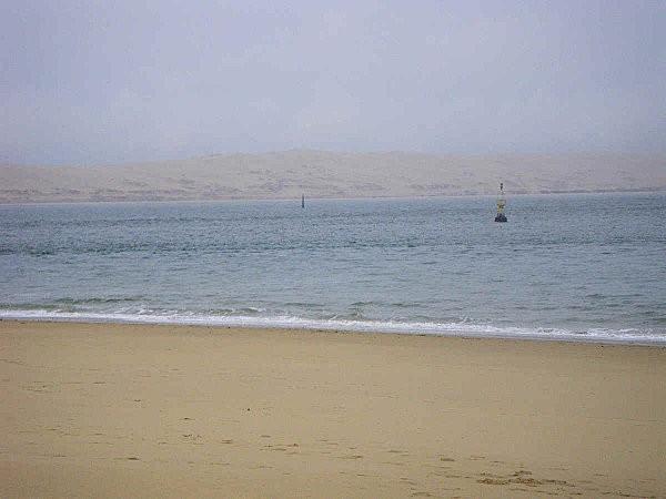 cap ferret vue sur la dune du pyla