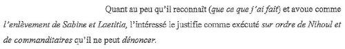 ➤ Marc Dutroux confirme qu'il travaillait pour un RÉSEAU !