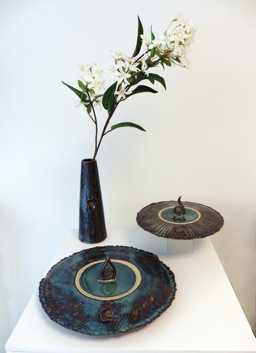 Boîtes plates texturées, Terr'Ame, céramique véronique Bélier, Trévoux