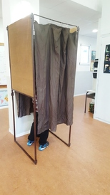 CM2 c au bureau de vote !