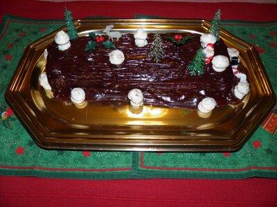 Bûche de Noël 2012