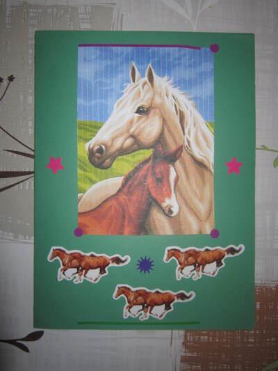 Les chevaux - Marie