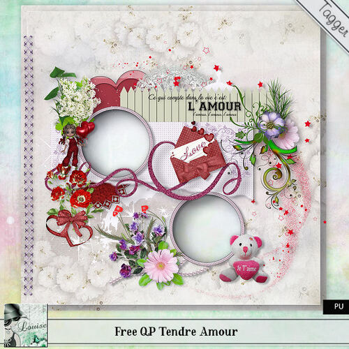 QP du tagger kit Tendre Amour Free