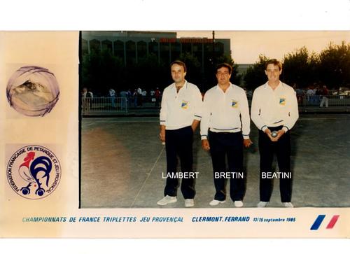 Les qualifiés du 06 de 1980 à 1989