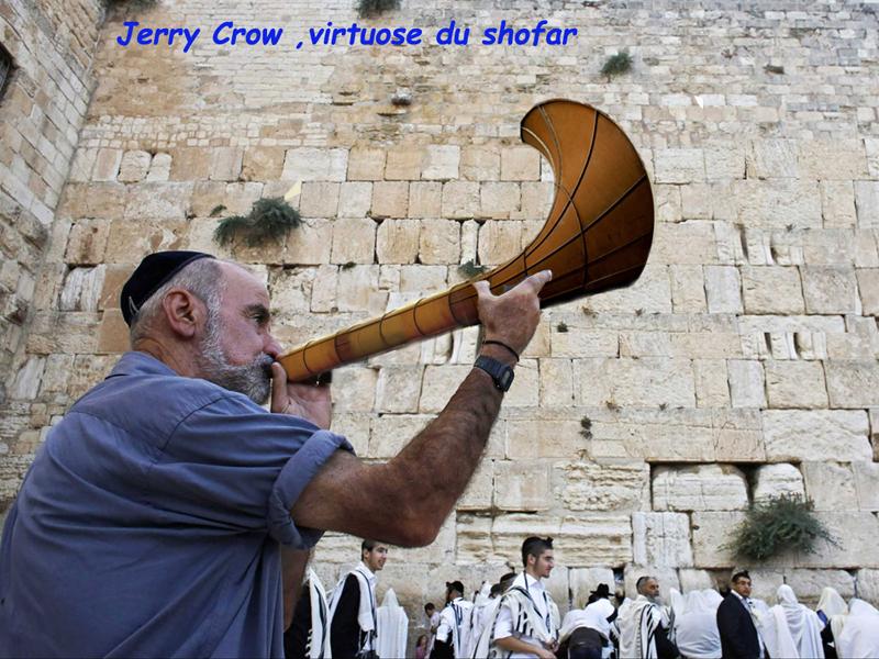 Shofar/ Dirty Corner 3/Jérusalem/Western Wall/Al Aqsa
