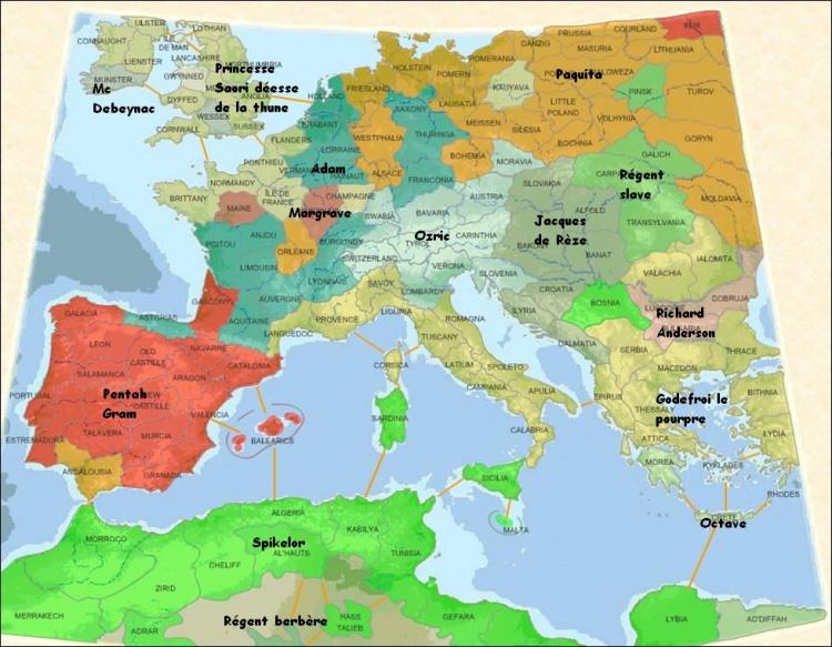 Campagne EURO 166  /  Paquita et Saori reines et déesses d'Europe  ---------------------------------------------------------