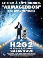 H2G2 Guide voyageur galactique affiche