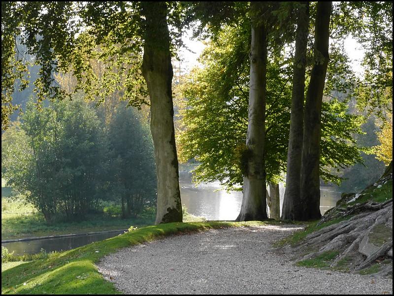 Le Parc de Clères en automne