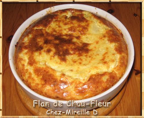 Flan de Chou-Fleur