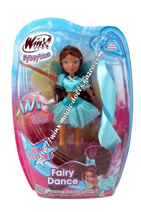 Layla fairy Dance en boîte