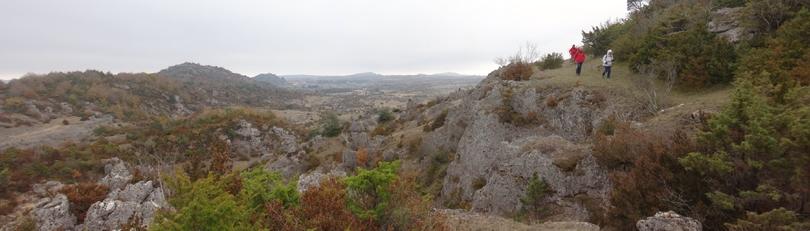Descente du Roc de Serviere