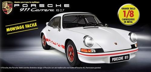 N° 1 Construisez votre Maquette de la Porsche 911 Carrera RS 2.7 - Lancement